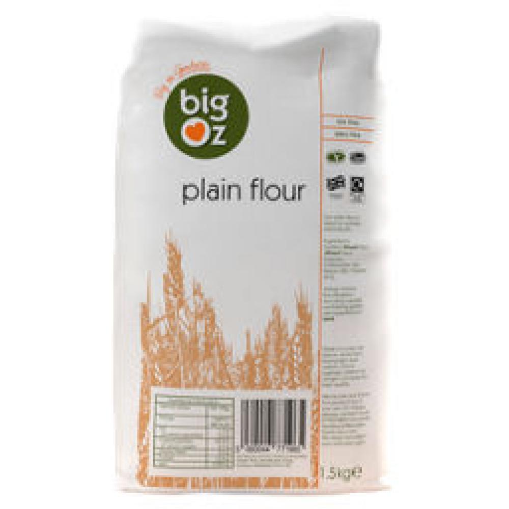 Big Oz Plain Flour 1.5kg